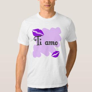 Ti amo - Italian I love you T Shirt