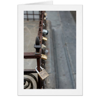 TI AMO - LOCKS OF LOVE Card