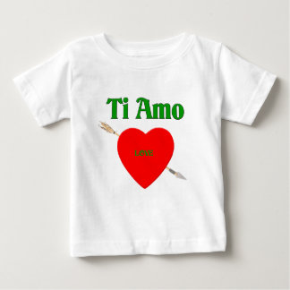 Ti Amo (te amo) Polera