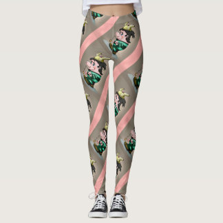 Ti-Breton GYMNASE CUTE CARTOON LEGGINGS 2