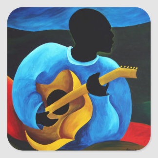 Ti-Jean le guitariste 2008 Square Sticker