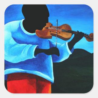 Ti-Jean le violoniste 2008 Square Sticker