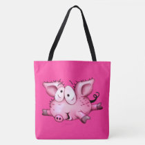 Ti-Pig Cartoon pigglet TOTE BAG