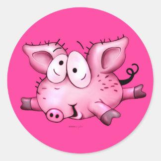TI PIG CUTE  Auto-Collant.... Sticker