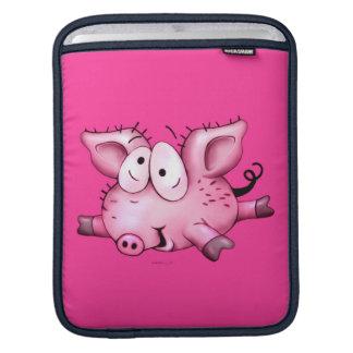 Ti-PIG CUTE CARTOON iPad Sleeve For iPads