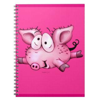 Ti Pig  NOTE book