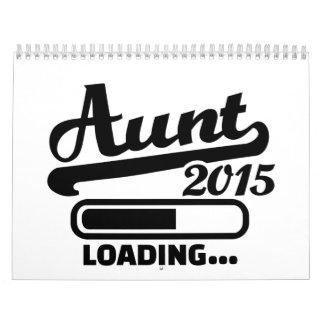 Tía 2015 calendario de pared