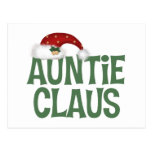 Tía Claus tía Postcards Postal