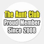 Tía Club… desde 2008 Etiquetas Redondas