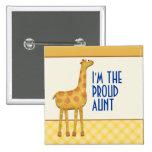 Tía de la jirafa/tía orgullosas Pin