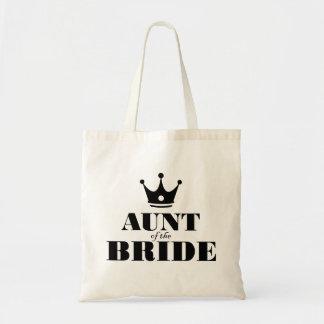 Tía de la novia bolsa tela barata
