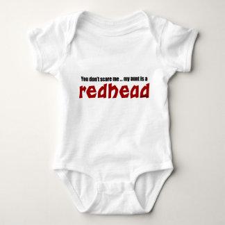 Tía del Redhead Playera