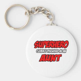 Tía del super héroe… llavero personalizado