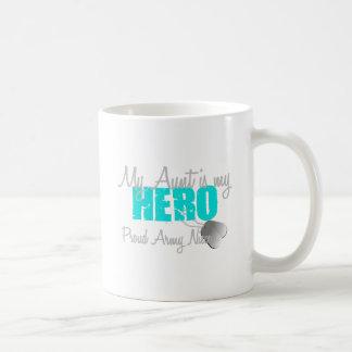 Tía Hero de la sobrina del ejército Tazas De Café