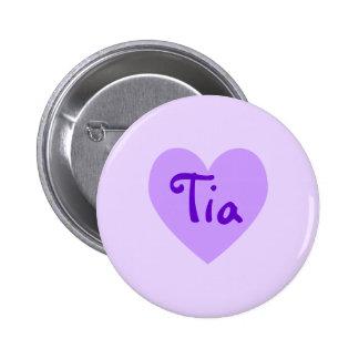 Tia in Purple 2 Inch Round Button