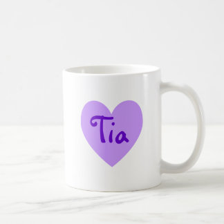 Tia in Purple Coffee Mug