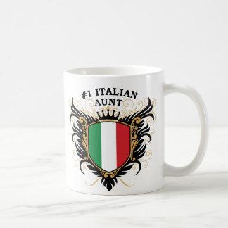 Tía italiana del número uno taza de café
