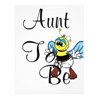 Tía juguetona To Bee Membretes Personalizados