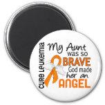 Tía Leukemia del ángel 2 Imán
