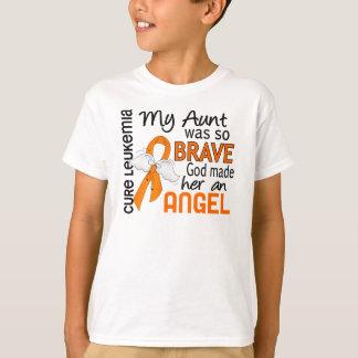 Tía Leukemia del ángel 2 Playera