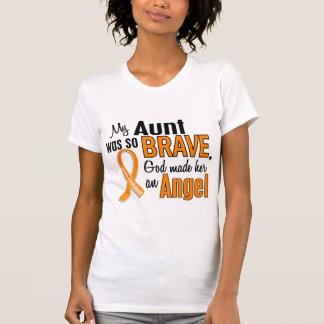 Tía Leukemia del ángel Tee Shirt