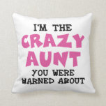 Tía loca almohada