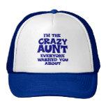 Tía loca divertida gorras