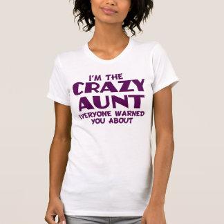 Tía loca T-shirt Playera