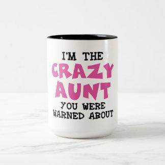 Tía loca taza de café