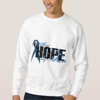 Tía My Hero - esperanza del cáncer de colon Sudadera