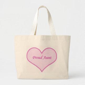 Tía orgullosa Bag, rosado Bolsas