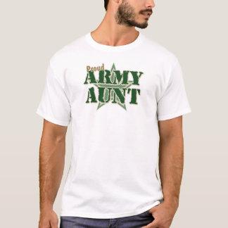 Tía orgullosa del ejército playera
