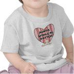 Tía rosada Spoils Me Tshirts y regalos Camiseta