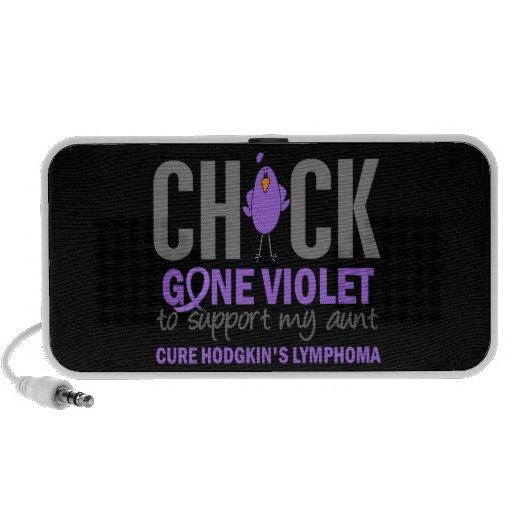 Tía violeta ida H Lymphoma Laptop Altavoces