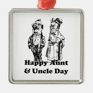 Tía y tío Day Ornamentos De Reyes Magos