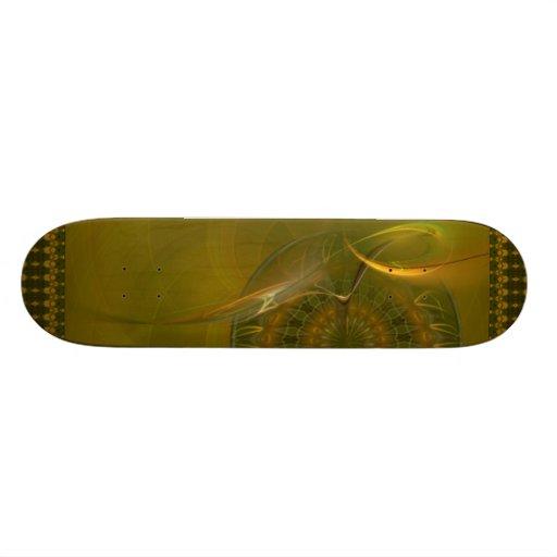 Tialtiu Harvest Goddess Abstract Art Skate Decks