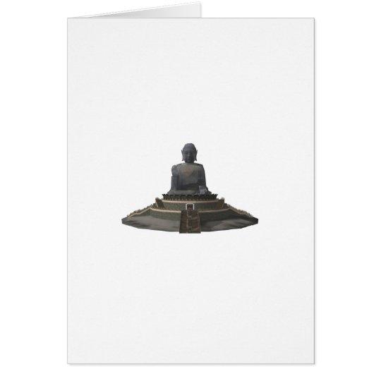 Tian Tan Buddha: Big Buddha: 3D Model: Card
