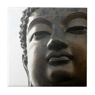 Tian Tan Buddha Face close up Ceramic Tile