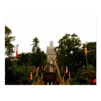 Tian Tan Buddha Postcard