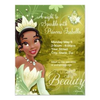 Tiana Birthday Invitation