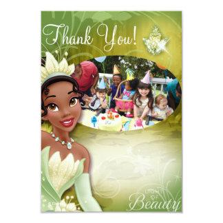 Tiana Birthday Thank You Cards