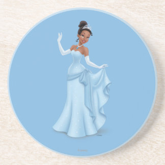 Tiana Blue Coaster