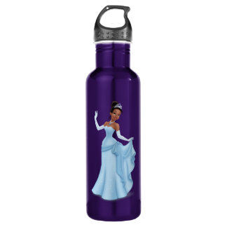 Tiana Blue Water Bottle