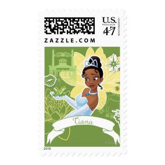 Tiana - cocinar para arriba un sueño sello postal