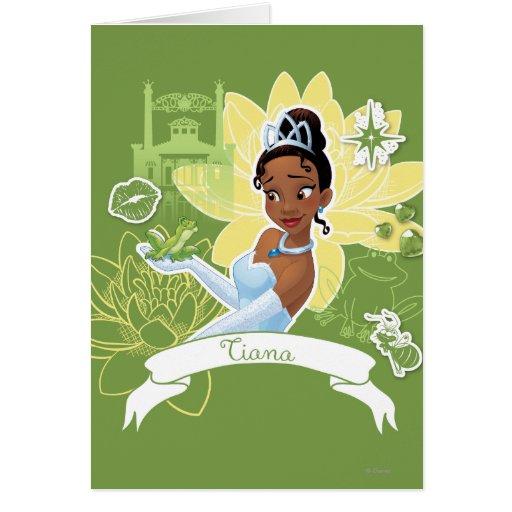 Tiana - cocinar para arriba un sueño tarjeta de felicitación