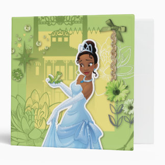 Tiana -  Confident Princess 3 Ring Binder