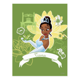 Tiana - Cooking up a Dream Postcard