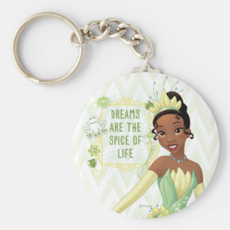Tiana - Dreams Are The Spice Of Life Basic Round Button Keychain