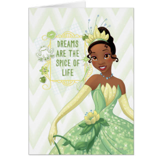 Tiana - Dreams Are The Spice Of Life Card