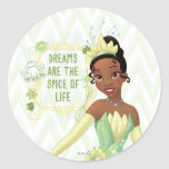 Tiana - Dreams Are The Spice Of Life Classic Round Sticker